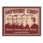 Supreme Corp Tarjetas Postales
