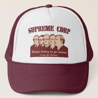 Supreme Corp Trucker Hat