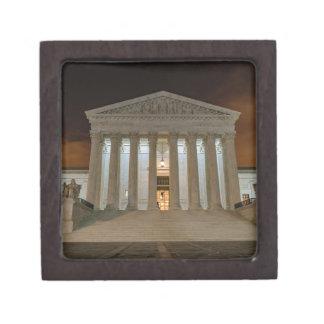 Supreme Court at Night Jewelry Box