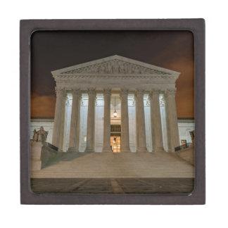 Supreme Court at Night Keepsake Box