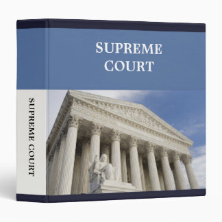 Supreme Court Binder