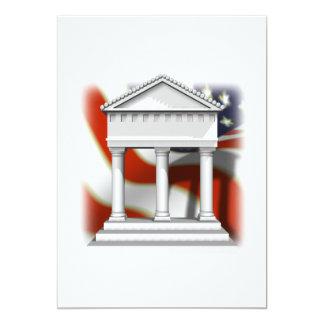 Supreme Court 5x7 Paper Invitation Card