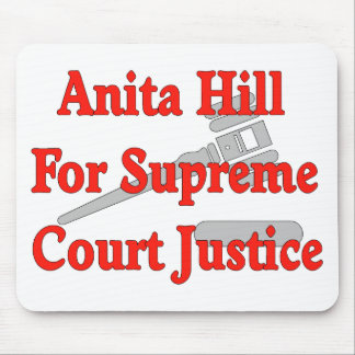Supreme Court Justice Anita Hill Mouse Pad