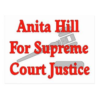 Supreme Court Justice Anita Hill Postcard