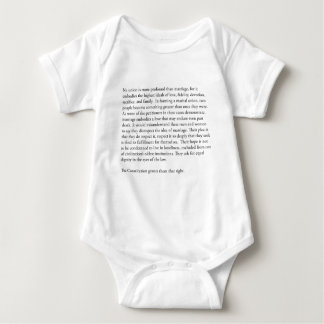 Supreme Court Justice Anthony Kennedy gay marriage Baby Bodysuit