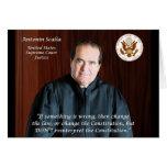 Supreme Court Justice Antonin Scalia Card