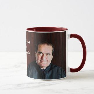 Supreme Court Justice Antonin Scalia Mug