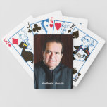 Supreme Court Justice Antonin Scalia Bicycle Playing Cards