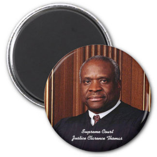 Supreme Court Justice Clarence Thomas 2 Inch Round Magnet