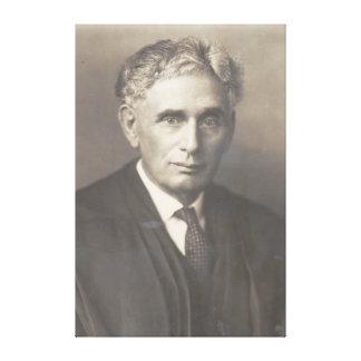 Supreme Court Justice Louis Dembitz Brandeis Stretched Canvas Prints