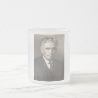 Supreme Court Justice Louis Dembitz Brandeis Frosted Glass Coffee Mug