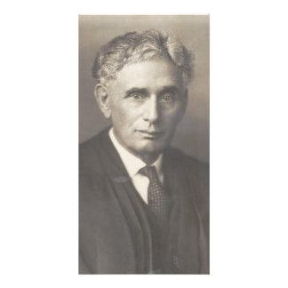 Supreme Court Justice Louis Dembitz Brandeis Custom Photo Card