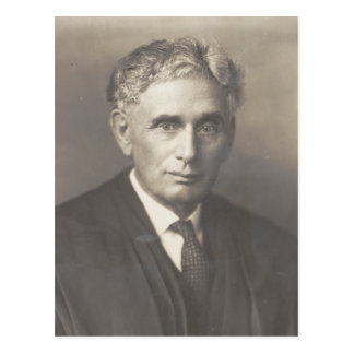 Supreme Court Justice Louis Dembitz Brandeis Postcard