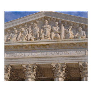 Supreme Court of United States Poster