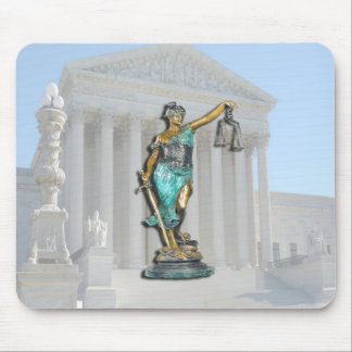 SUPREME-CT-LADY-JUSTICE MOUSE PAD