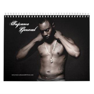 Supreme General Official 2012-2013 calendar
