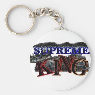 supreme king klick logo keychain