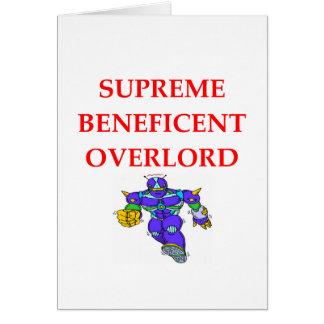 SUPREME overlord Card