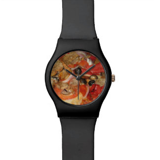 Supreme Pizza Time Wrist Watches