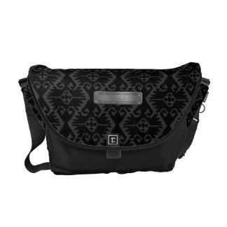 Supreme Royalty Expedition Plate (Black/Grey) Messenger Bag