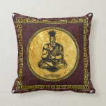 Supreme Royalty First Buddhist Pillow(Brown,Gld)
