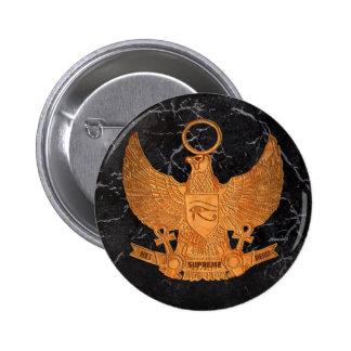 Supreme Royalty Het Heru Button Blck Gold