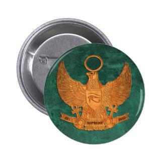 Supreme Royalty Het Heru Button Green Gold