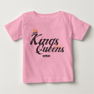 Supreme Royalty Kings and Queen Infant  (Blk/Gold) Baby T-Shirt