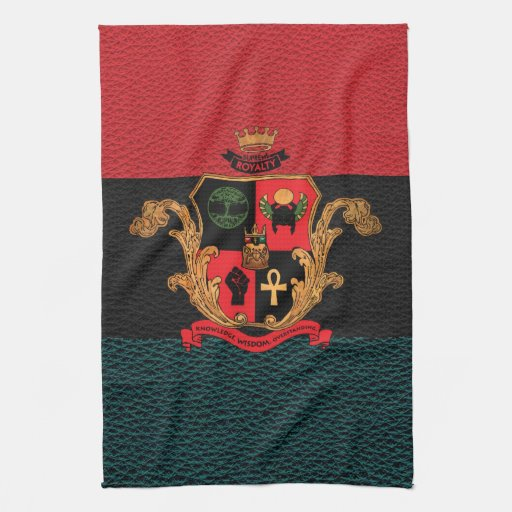 Supreme Royalty Nobility Crest Towel (Pan-Tri)