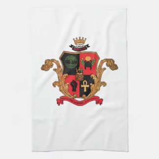 Supreme Royalty Nobility Crest Towel (White)