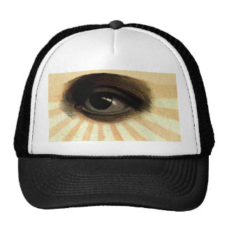 supremo masónico del vintage todo el ojo que ve gorras de camionero