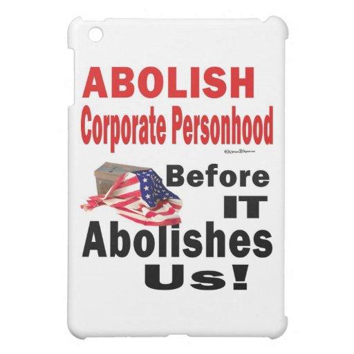 Suprima CorporatePersonhood antes de que nos supri