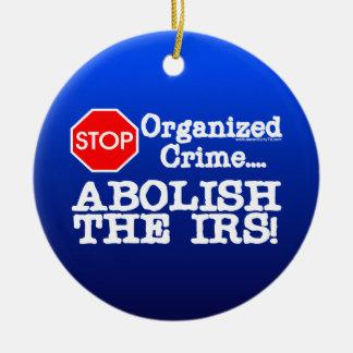 ¡Suprima el IRS Ornatos