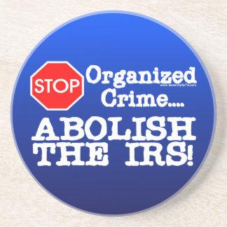 ¡Suprima el IRS Posavasos Diseño