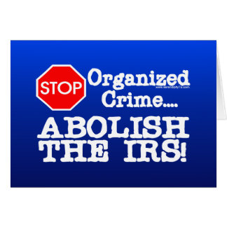 ¡Suprima el IRS Tarjeta