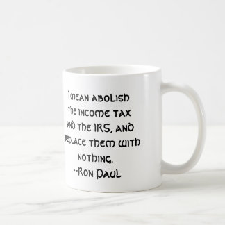 Suprima el IRS Taza Clásica