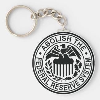 Suprima Federal Reserve Llavero Redondo Tipo Pin
