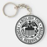 Suprima Federal Reserve Llaveros
