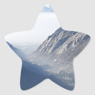 suprimido pegatina en forma de estrella