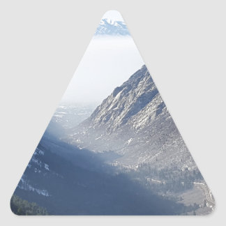 suprimido pegatina triangular