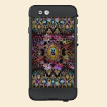 Suprine Cool Girly Unique  Baroque Monogram LifeProof® NÜÜD® iPhone 6 Case