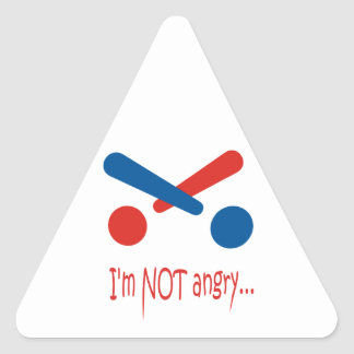 Suprise gift triangle sticker