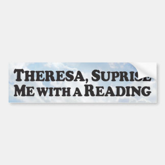 Suprise Reading - Bumper Sticker