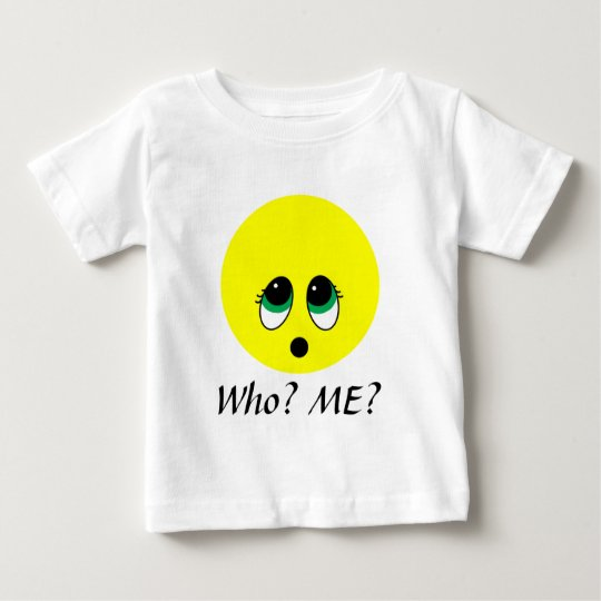 """""""Suprise"""" Smiley Face Assortment Baby T-Shirt"""