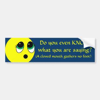 """Suprise"" Smiley Face Assortment Bumper Sticker"