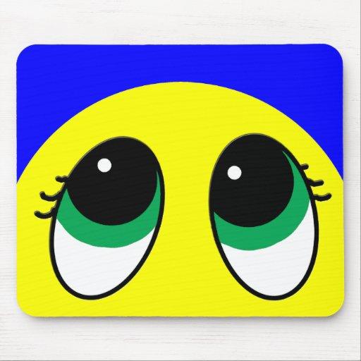 """Suprise"" Smiley Face Assortment Mouse Pad"