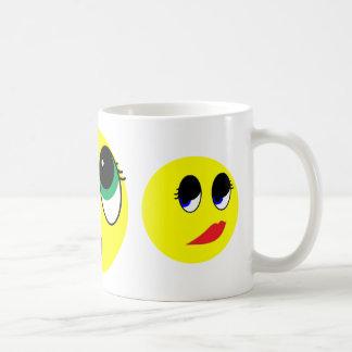 """Suprise"" Smiley Face Assortment Mugs"