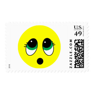 """Suprise"" Smiley Face Assortment Postage Stamps"