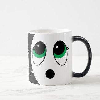 """""""Suprise"""" Smiley Face: """"Whoa! Monday Again!"""" Magic Mug"""