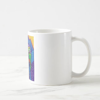 Suprised  Woman by Piliero Coffee Mug